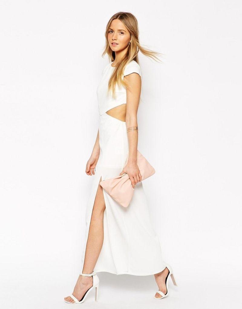 Платье голые бока