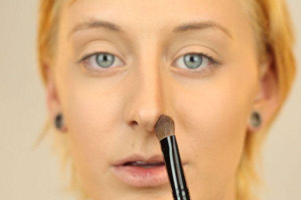 Как сделать нос коротким