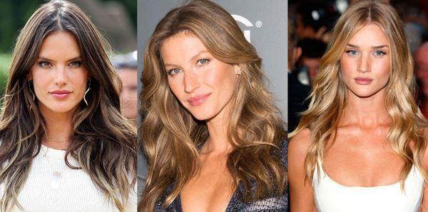 Длинные свободные волосы украшают женщину главное найти свой вариант