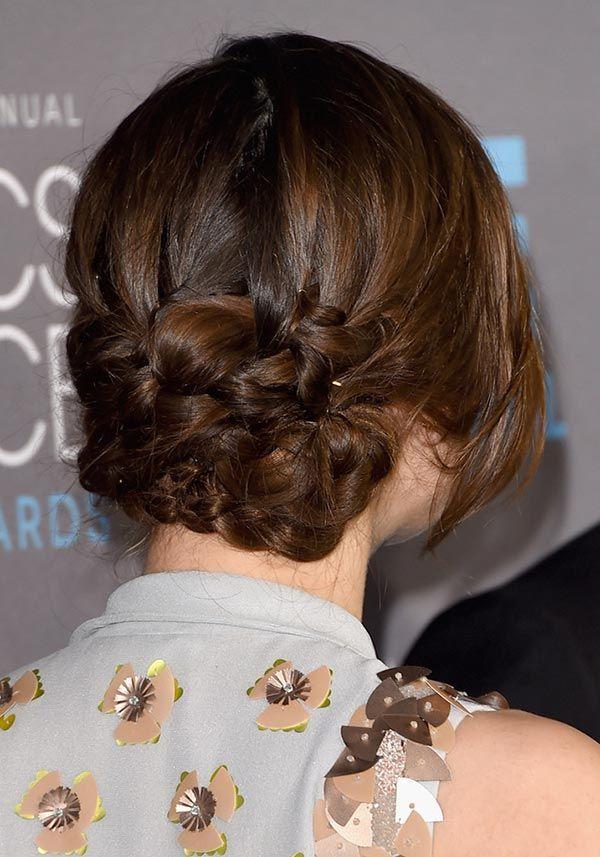 Длинные волосы известной актрисы часто украшает аккуратная коса