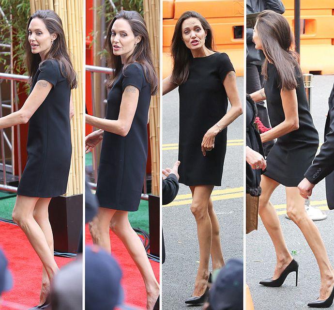 Анджелина Джоли излишне похудела фото ... анджелина джоли