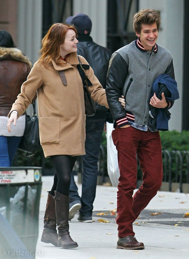 Andrew garfield and emma stone marriage of figaro