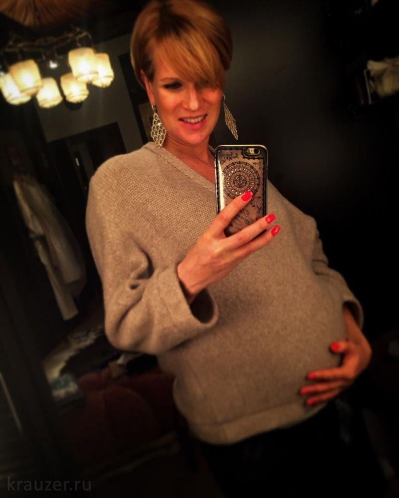 Олеся судзиловская беременна