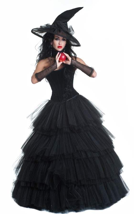 Наряды ведьмы на хэллоуин своими руками