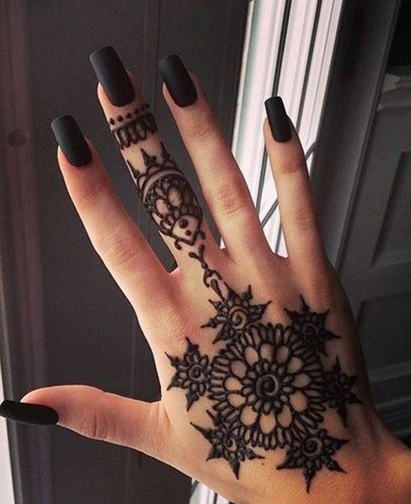 Как сделать рисунок хной своими руками