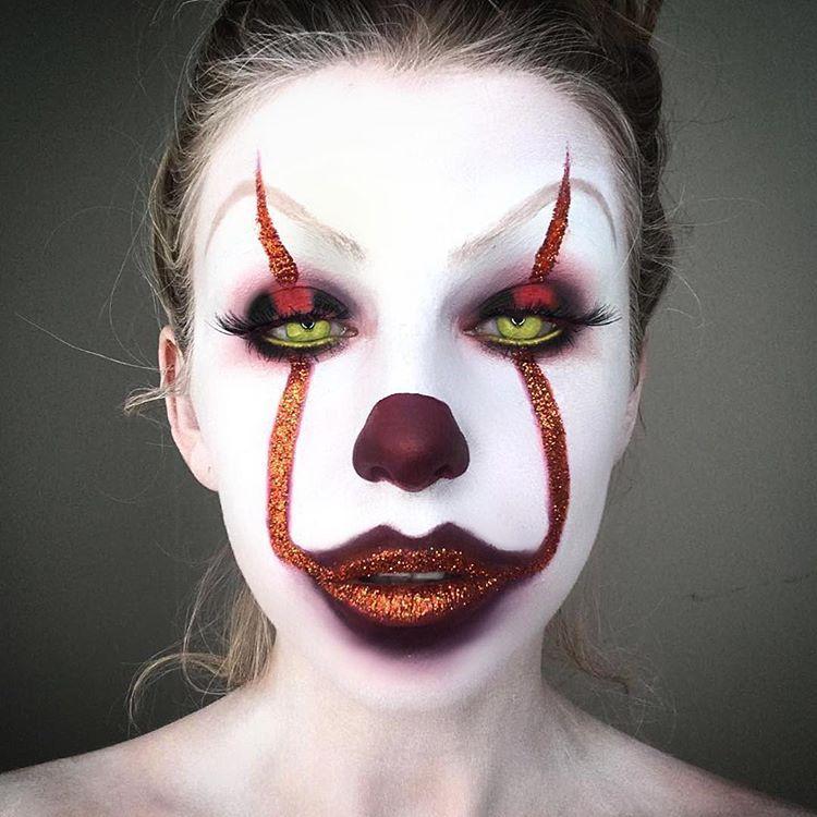 Как сделать макияж клоуна в домашних условиях