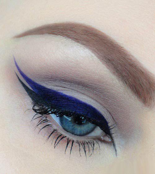 Правильный макияж визуально придающий глазам миндалевидную форму