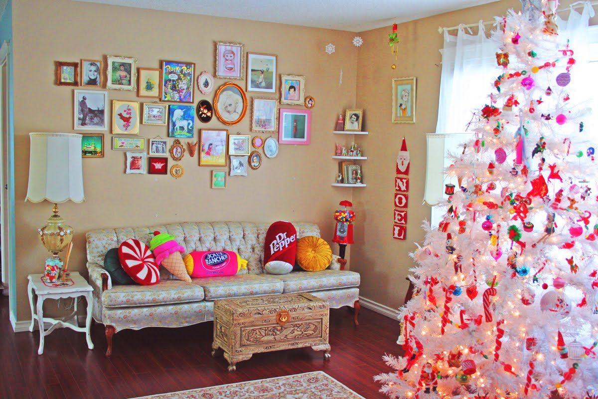 Украшаем комнату на новый год своими руками
