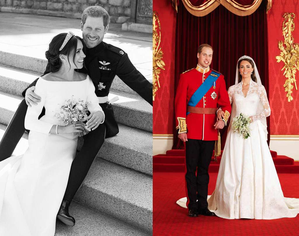 Опубликованы официальные свадебные портреты принца Гарри и Меган Маркл - krauzer.ru