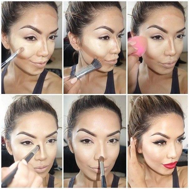 3 способа коррекции носа с помощью макияжа | MAKEUPLOVERS | 604x604