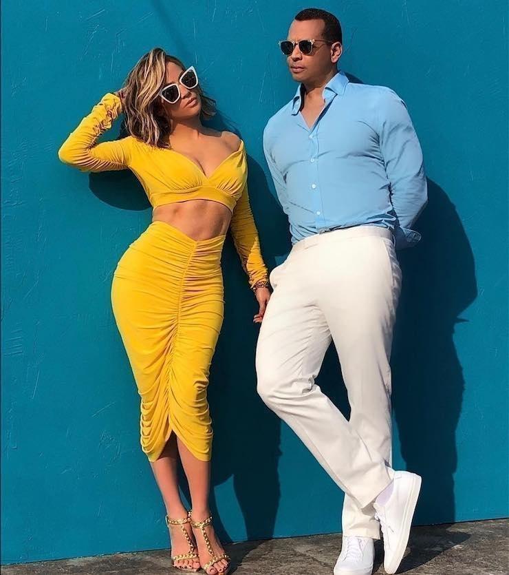 Дженнифер Лопес и Алекс Родригес пригласили на свадьбу своих бывших