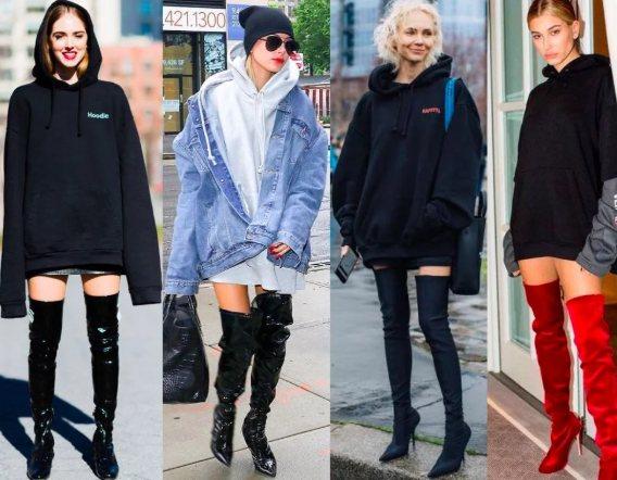 С чем носить ботфорты, чтобы образ стал стильным и легким